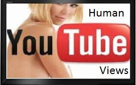 Real Human youtube views